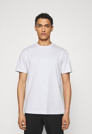 CASUAL TEE SHORT SLEEVE - Basic T-shirt - light grey melange