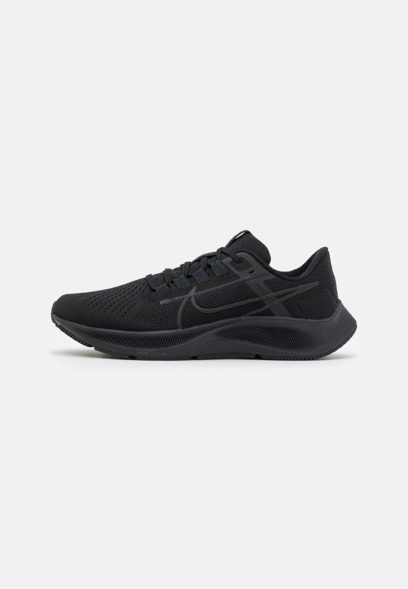 Nike Performance - AIR ZOOM PEGASUS 38 - Neutrala löparskor - black/anthracite/volt