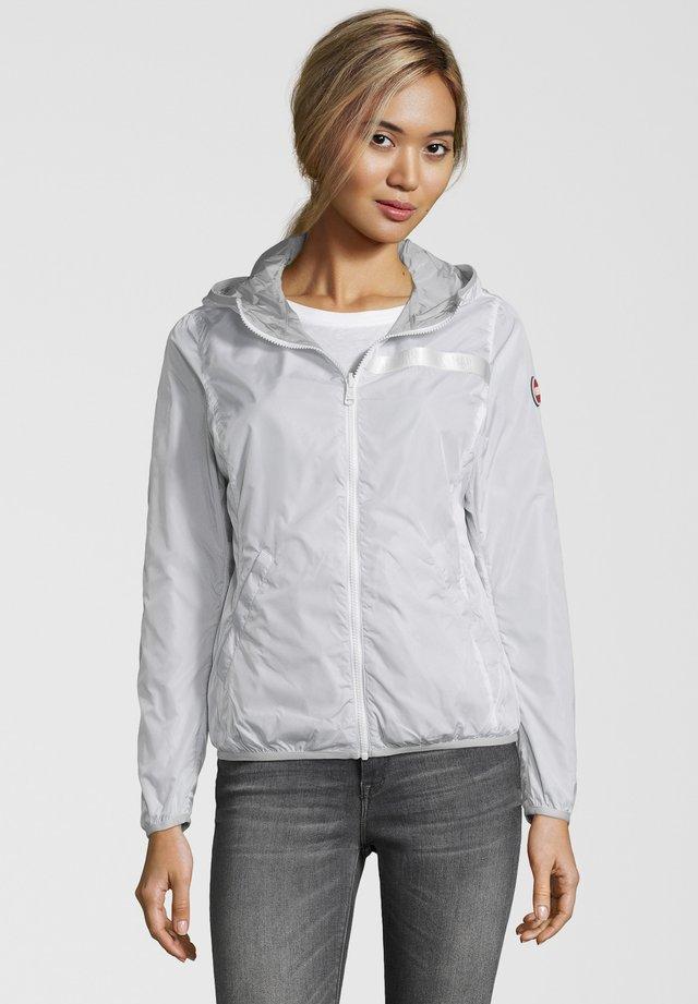 WENDEJACKE FLORIDA MIT KAPUZE - Outdoor jacket - grey/white