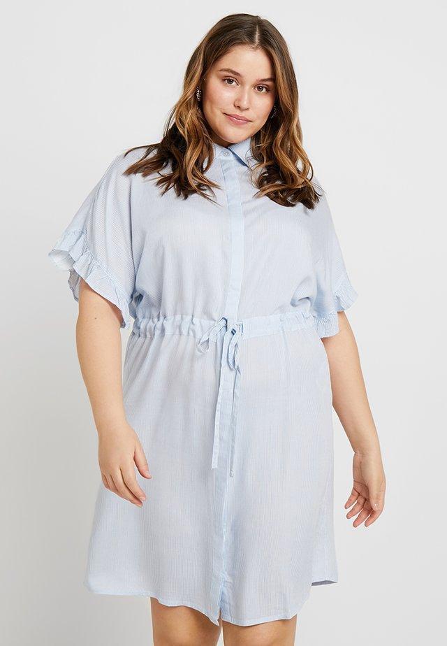 CARCARVI DRESS - Košilové šaty - marina