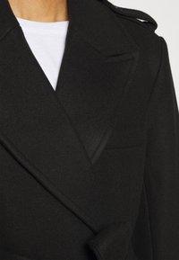 NA-KD - MATHILDE GØHLER BLEND COAT - Klasický kabát - black - 7