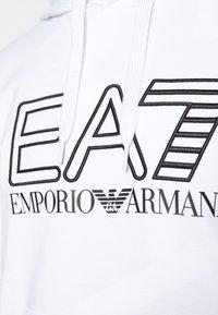 EA7 Emporio Armani - Hoodie - white/black - 6