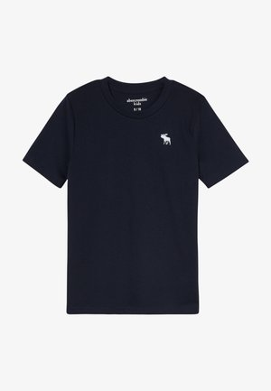 BASIC SOLID TEE - T-shirt basic - navy