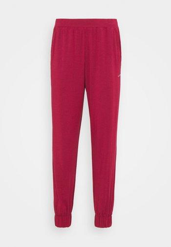 PERFECTLY FIT FLEX JOGGER - Pyjama bottoms - deep sea rose