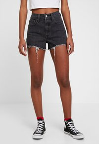 Levi's® - 501® HIGH RISE SHORT - Denim shorts - cabo storm - 0