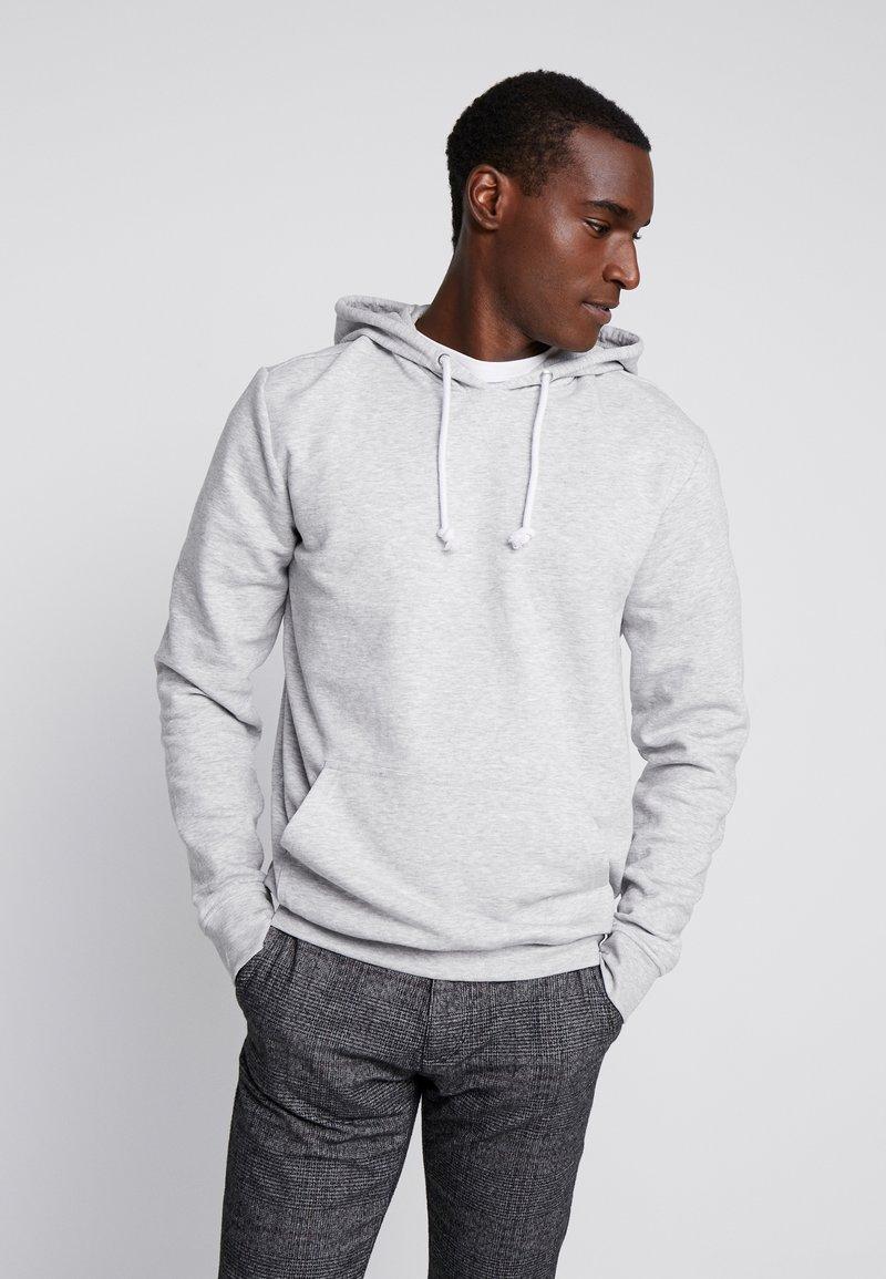 Pier One - Hoodie - mottled light grey