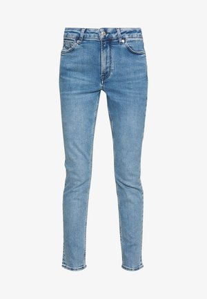 JUNO HIGH - Jeansy Slim Fit - light-blue denim