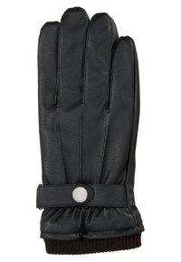 Only & Sons - ONSLARS BUCKLEGLOVE - Gloves - black - 1