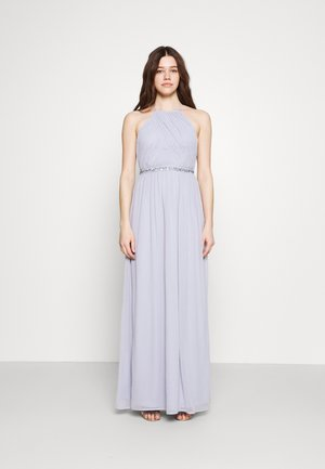 HEAVENLY BEADED GOWN - Occasion wear - dusty blue