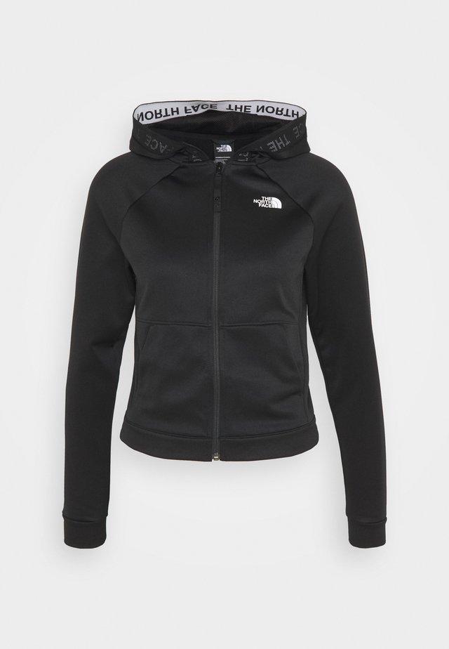 W TNL FZ - EU - Zip-up hoodie - black