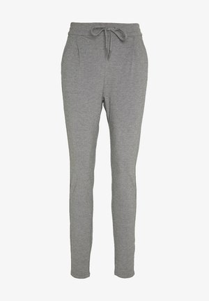 VMEVA LOOSE STRING PANTS  - Broek - medium grey melange
