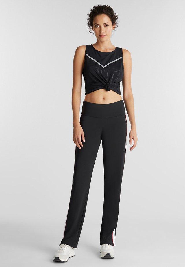 E-DRY - Pantalon de survêtement - black