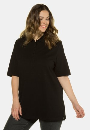 MIT SAMTBAND-K - Polo shirt - schwarz
