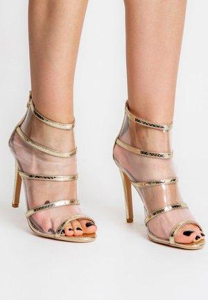 BAONE  - High heeled sandals - gold