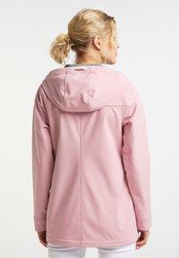 Schmuddelwedda - Soft shell jacket - pfirsichrosa - 2
