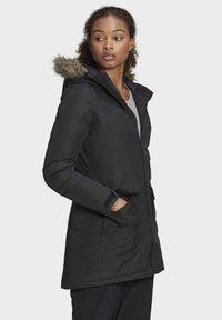 adidas Performance - XPLORIC PARKA - Winter coat - black - 2