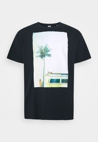 SURF - Print T-shirt - dunkelblau