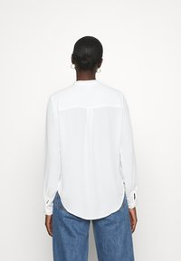 Selected Femme - SLFDYLANA - Button-down blouse - snow white - 2