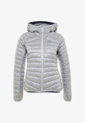 ESSENS DOWN HOOD - Down jacket - stone grey/magnetite