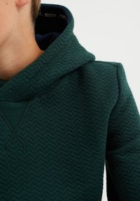 WE Fashion - MET STRUCTUUR - Jumper - green - 1