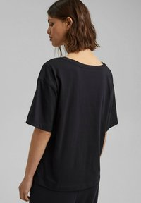Esprit - Basic T-shirt - black - 2