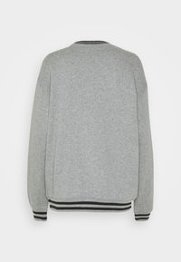 Kickers Classics - GREY SWEAT WITH STRIPED TRIMS - Felpa - grey - 1