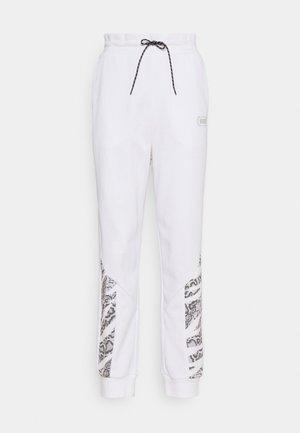 REBEL HIGH WAIST PANTS  - Jogginghose - puma white