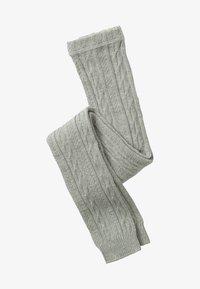 Boden - MIT ZOPFMUSTER - Leggings - Stockings - grau meliert - 0