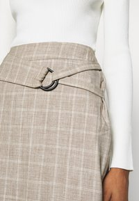4th & Reckless - AGNES SKIRT - Pencil skirt - beige - 4