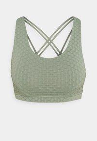 Cotton On Body - STRAPPY SPORTS CROP - Sujetador deportivo - basil green - 0