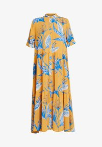 STORM DRESS - Košilové šaty - light yellow/blue
