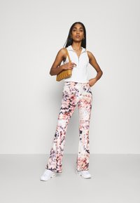 Jaded London - BOOTCUT JERSEY TROUSER WITH BABYLOCK  - Trousers - multi - 1
