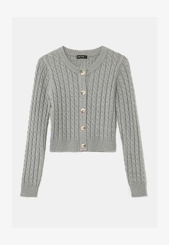 BASIC - Cardigan - grey