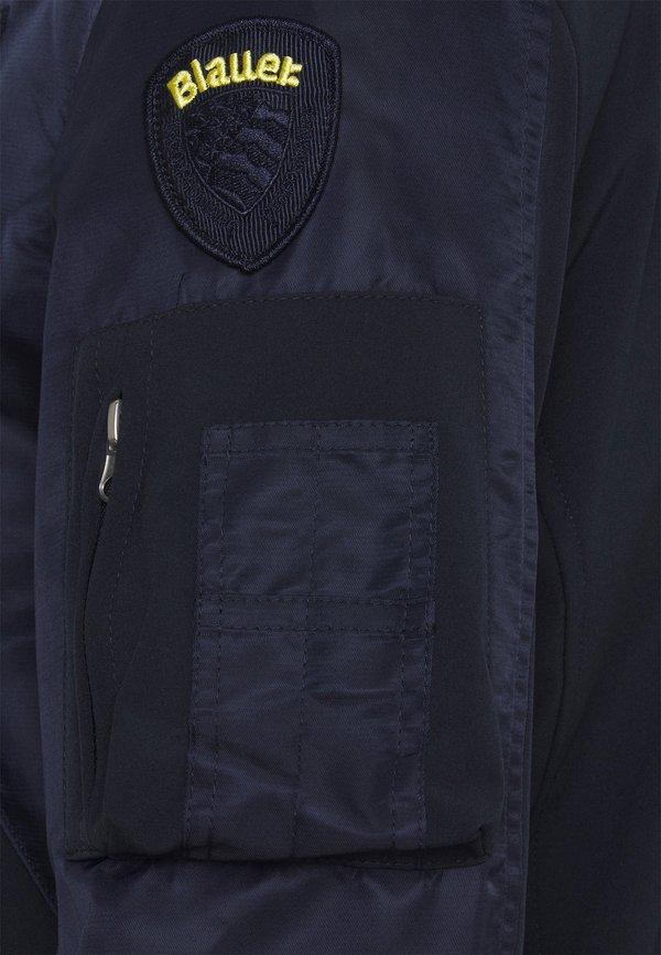 Blauer Kurtka Bomber - blue/niebieski Odzież Męska SDRA