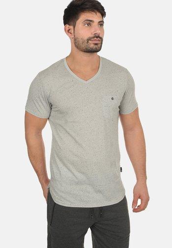 TEDROS - Basic T-shirt - light grey