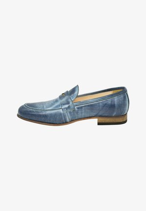 Slip-ons - royal blue