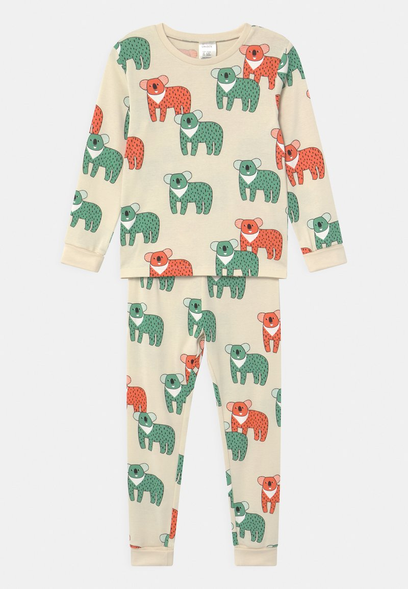 Lindex - MINI KOALA UNISEX  - Pyjama set - light beige