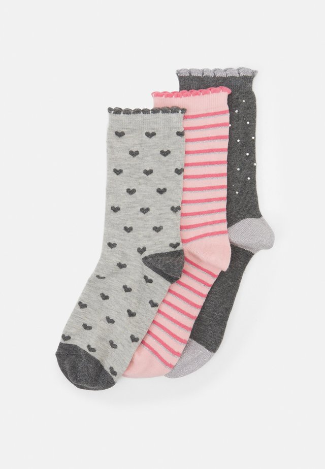 SOCKS IN A BOX 3 PACK - Calze - grey mix