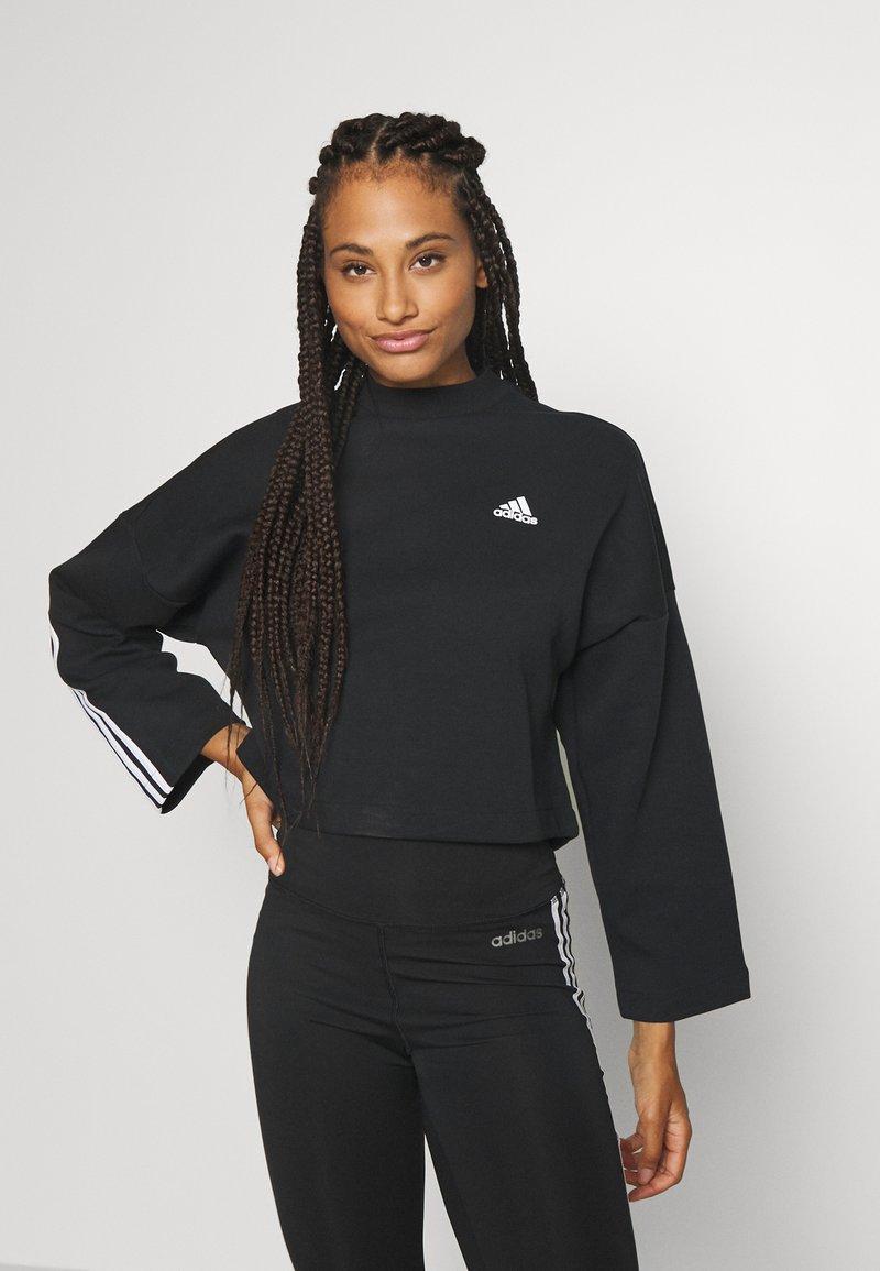 adidas Performance - CREW - Long sleeved top - black