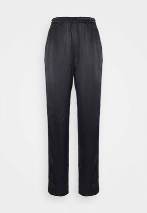 TROUSER - Broek - black dark