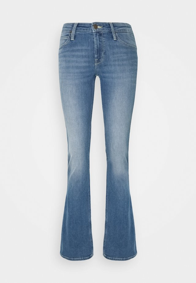 HOXIE - Jeans Bootcut - mid iris