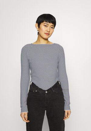 LONG SLEEVE CREW NECK - Trui - multi/scandinavian blue