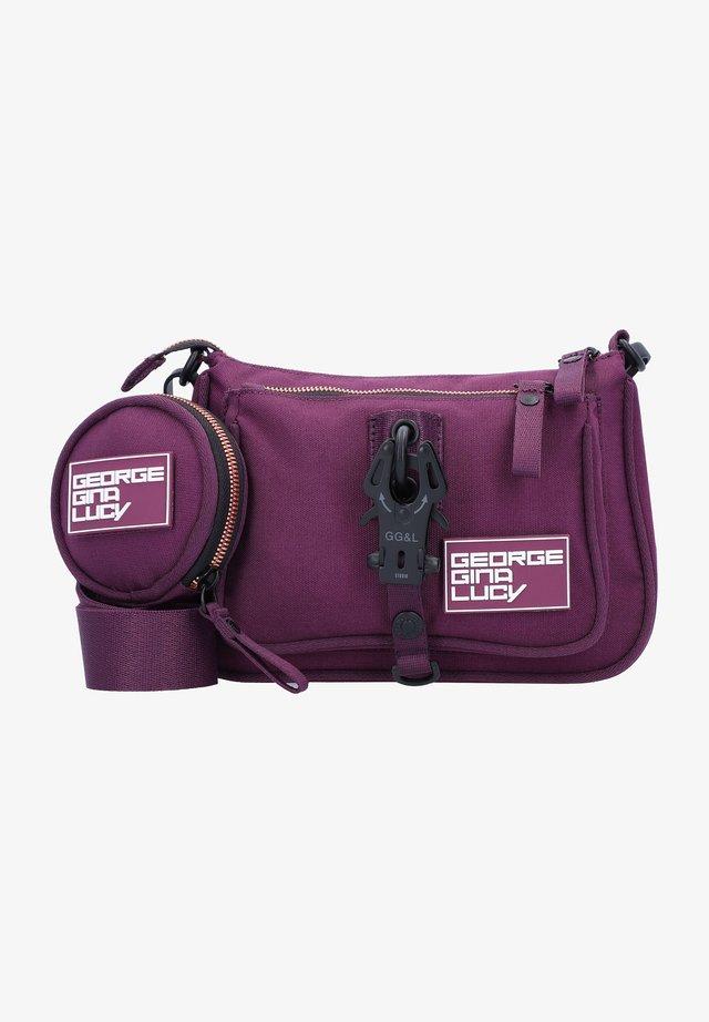 Across body bag - copper grape