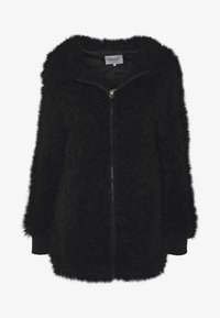 ONLY - ONLMELANIE HOOD JACKET - Winter coat - black - 3