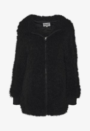 ONLMELANIE HOOD JACKET - Winter coat - black