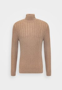 Pier One - Stickad tröja - mottled beige - 4