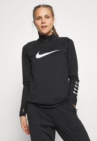 Nike Performance - RUN - Sportshirt - black/grey fog/white - 0