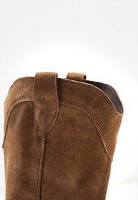 Felmini Wide Fit - GERBBERA - Cowboy/Biker boots - momma - 2