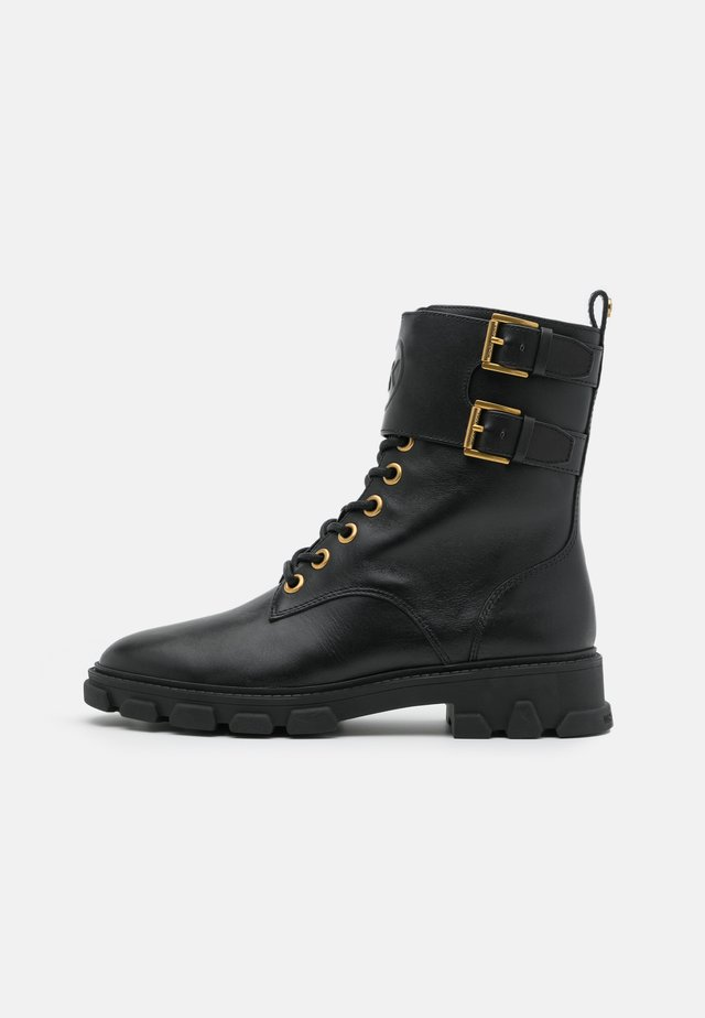 RIDLEY BOOT - Bottines à lacets - black