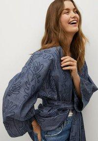 Mango - Summer jacket - dunkles marineblau - 3